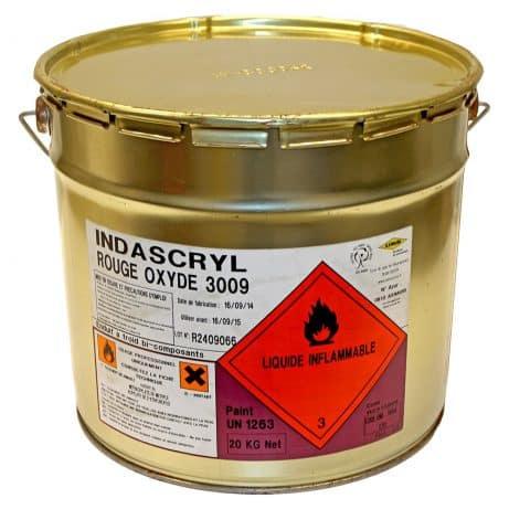 Indascryl kleurcoating blik (RAL 3009)